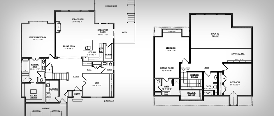 Vacation rentals need interior floor plans Home plan and design